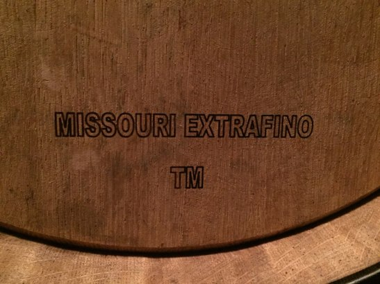I was impressed that the oak for the barrels comes from two places: France and Missouri