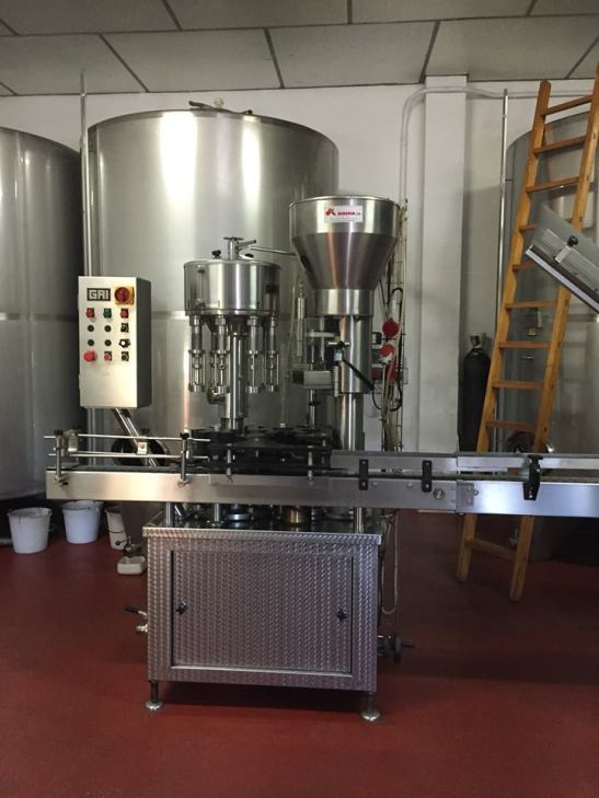 Wine making facilities at Bodegas Ismael Arroyo